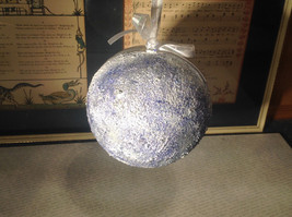 Holiday Christmas miniatures in snow encrusted winter scene ornament image 4