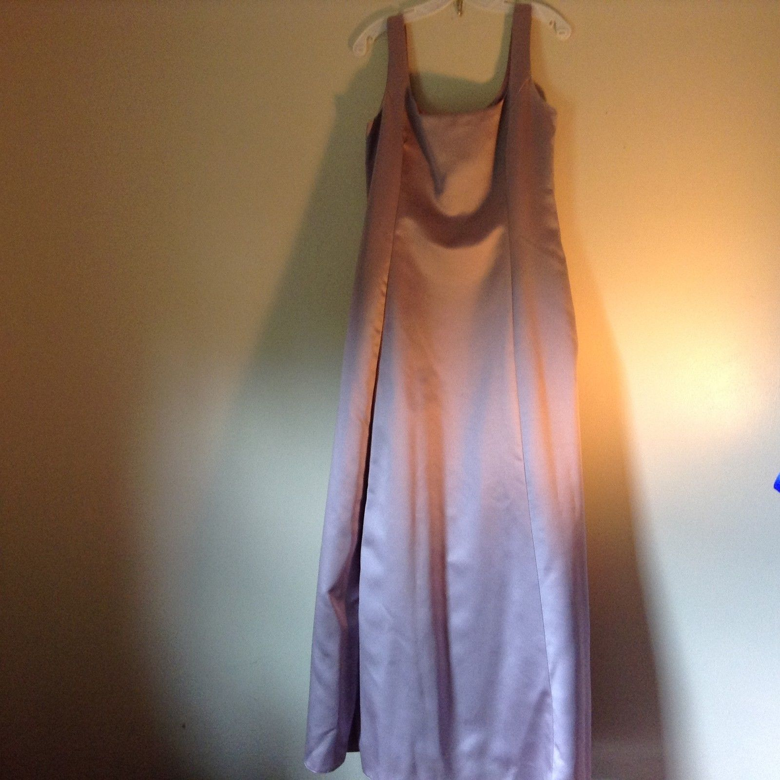 Jessica McClintock Bridal Lavender Gown Millennium 2000 Made in USA Size 16