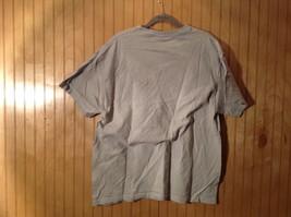A Moustache Means Business Gray Graphic T Shirt No Size Tag Measurements Below image 3
