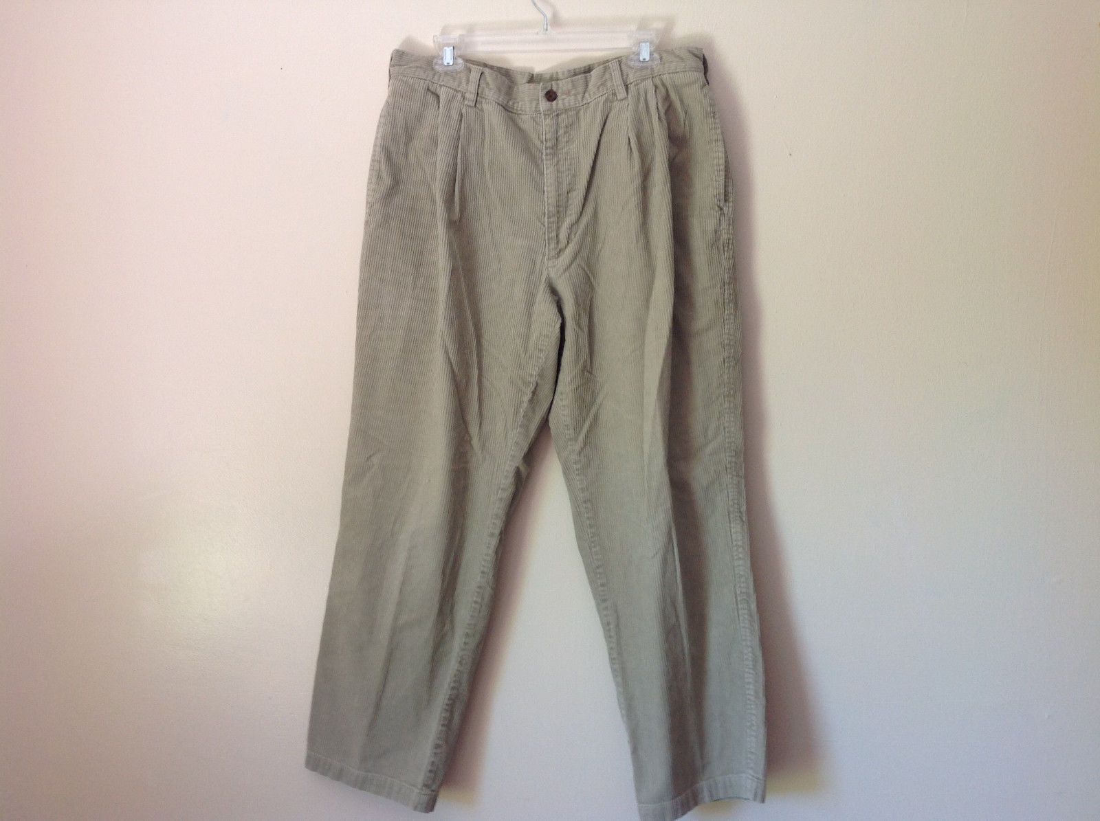 John Rich and Brothers Woolrich Off White Corduroy Casual Pants No Size Tag