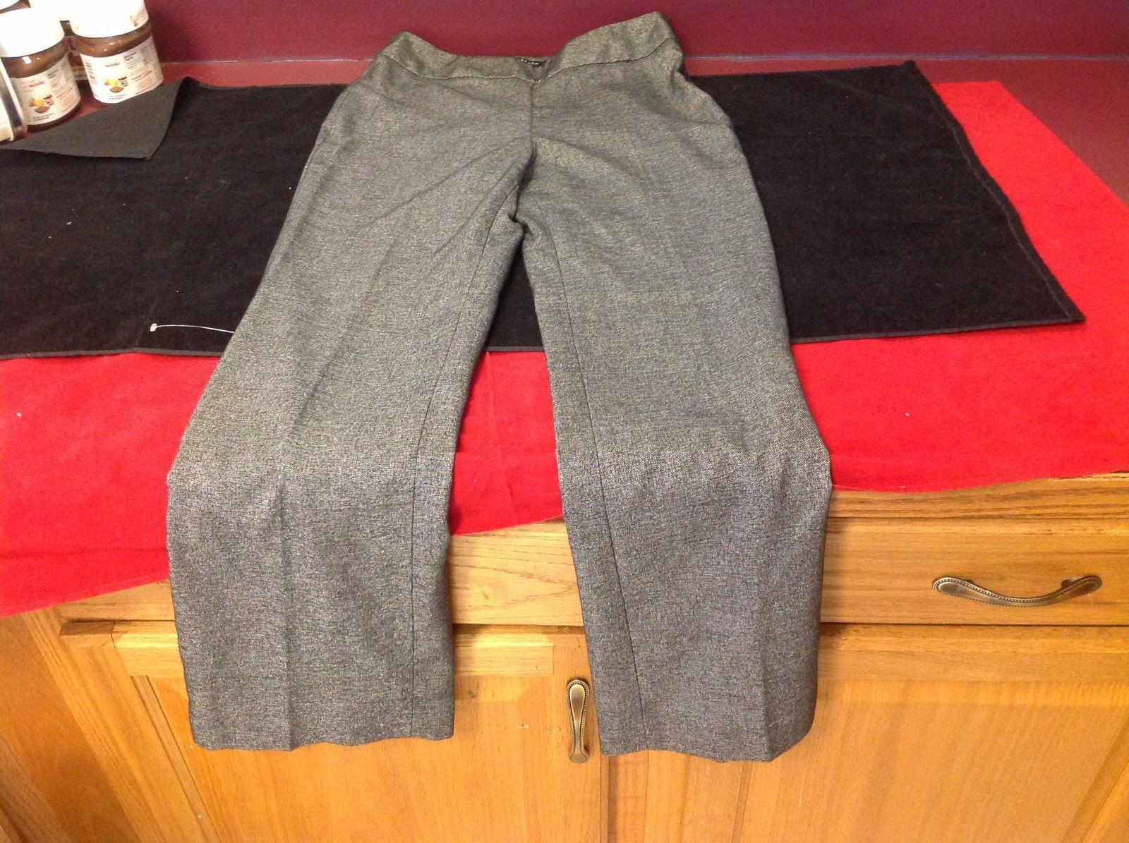 Jones New York Ladies Stretch Dress Pants Gray Size 2P