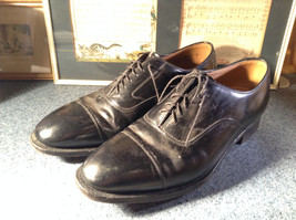 Johnston and Murphy Optimum Dress Shoes Size 11.5 Made in USA