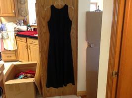 Jones New York Formal Long Black Sleeveless Evening Dress size 12