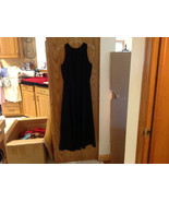 Jones New York Formal Long Black Sleeveless Evening Dress size 12 - $44.55