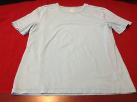 Jones Sport Ladies Light Blue Short Sleeve T-Shirt Size S
