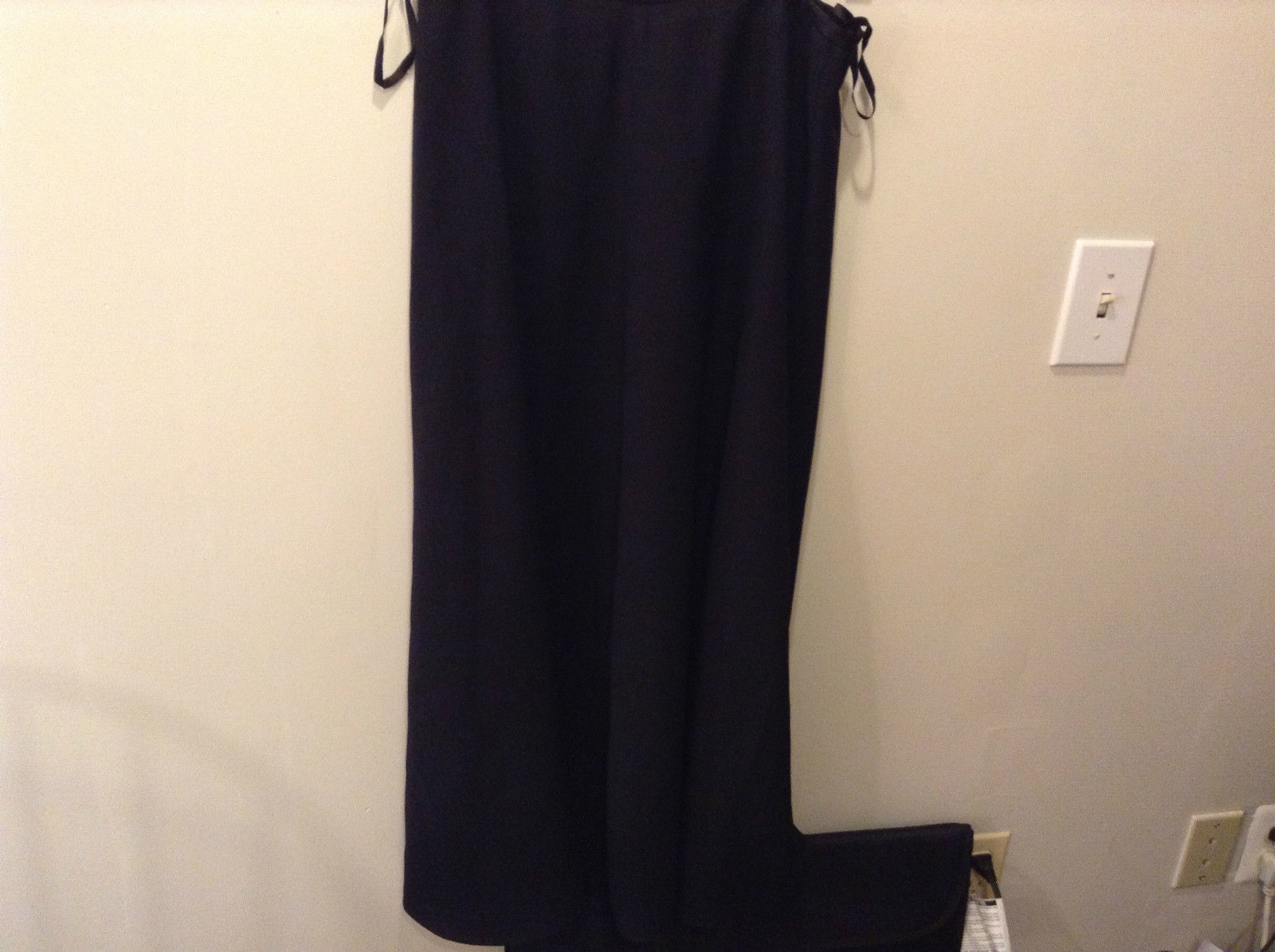 Jones and Company Size 12 Ankle Length Black Skirt Excellent Condition