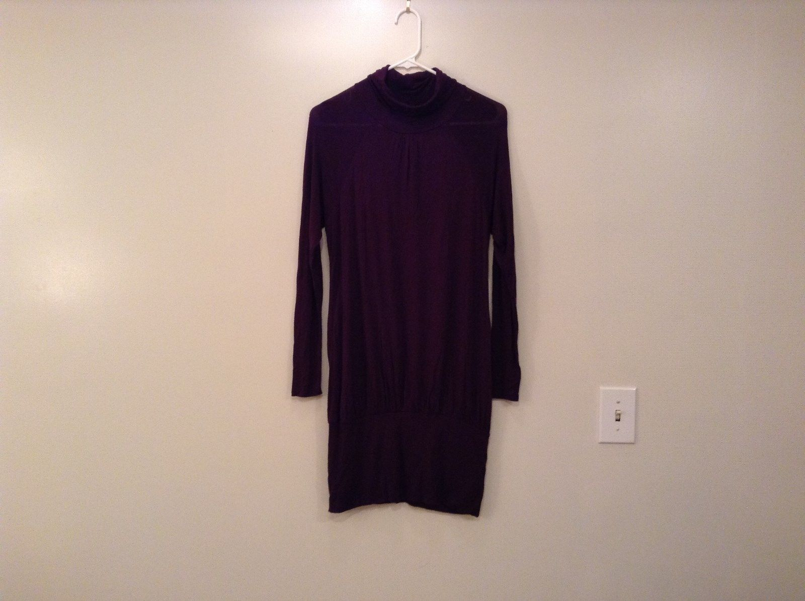 Julies Closet Long Turtleneck Dress Long Sleeves Size Medium