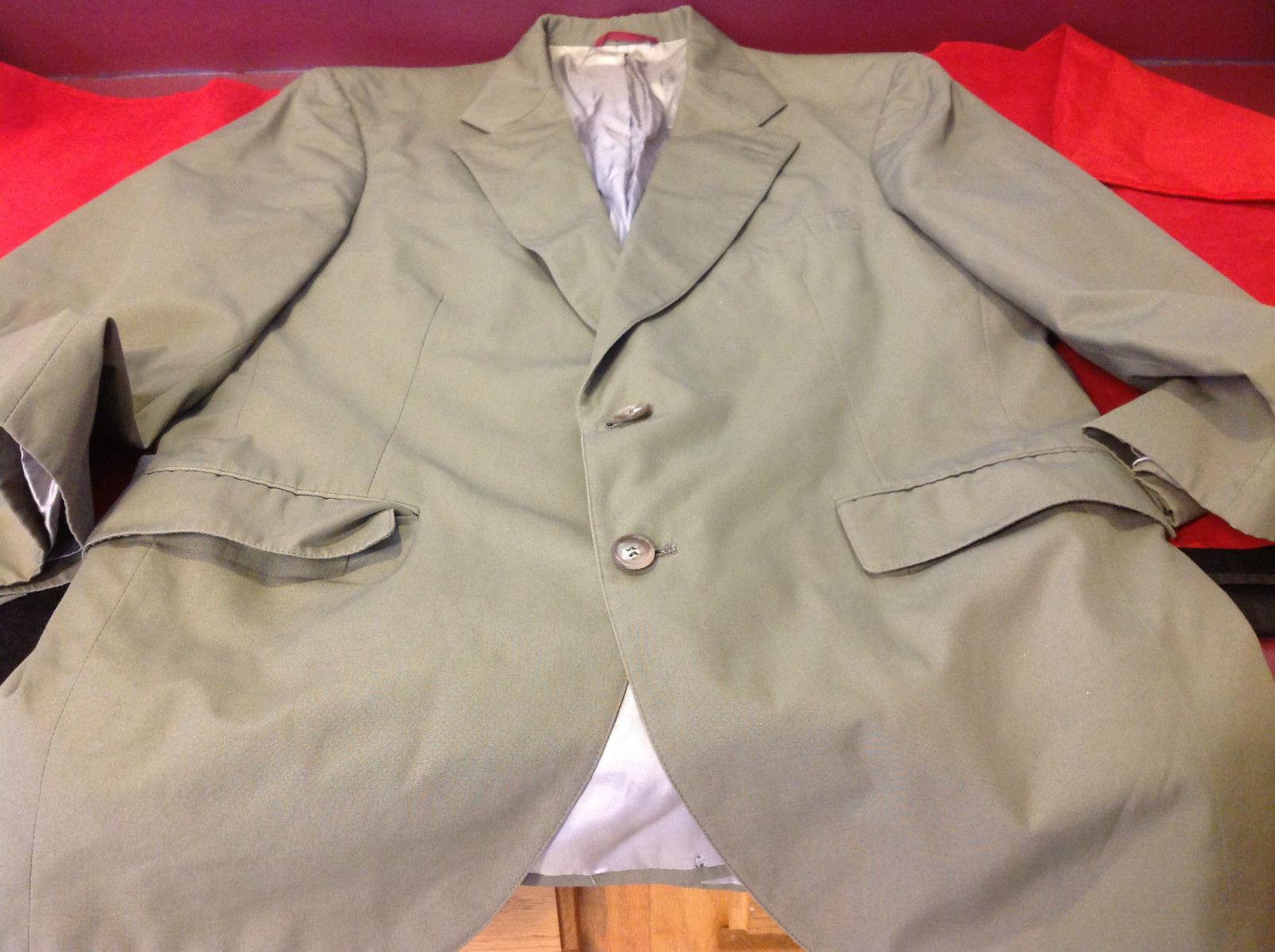 Jos A Bank Clothier Olive Green Mens Blazer
