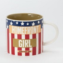 Homefront Girl mug red white and blue image 2
