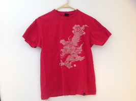 Karahai Red Dragon Graphic Short Sleeve T-Shirt Size Small