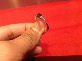 Homemade 7 ring wrap germanium to prevent tarnish Purple Silver image 8