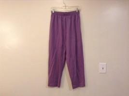KWBL Los Angeles Lavender Pants Elastic Waist No Tags See Measurements Below