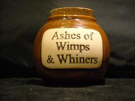 Humorous Ash Jar Decorative Ceramic Collectible  Glazed image 2