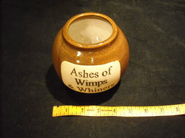 Humorous Ash Jar Decorative Ceramic Collectible  Glazed image 8