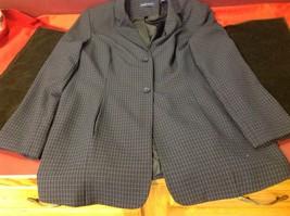 Karen Scott blue blazer size 12