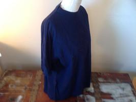 I E Baron Dark Blue Short Sleeve T-Shirt  Firenze Italia Embellished Size XL image 2