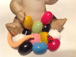 I Love My Yum Yums Charming Tails Figurine Mouse Eating Colored Jellybeans image 9