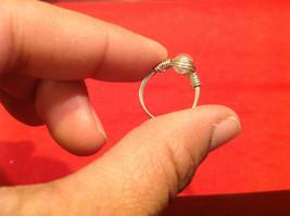 Homemade 4.1 quarter ring wrap germanium prevent tarnish crystal glass silver image 4