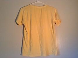 ICantoo Casual Wear Yellow Short Sleeve T Shirt Kona Hawaii Flip Flops Size S image 4