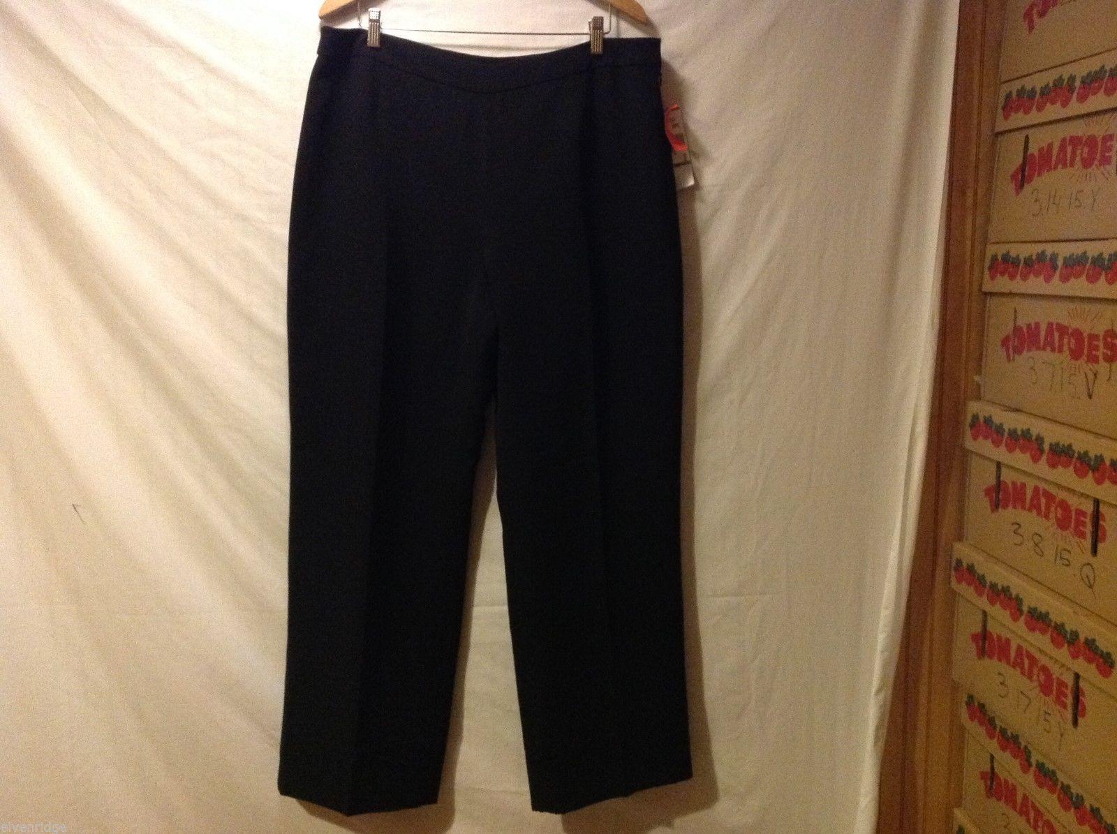 Kasper Womans Black Dress Pants, Size 18