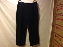 Kasper Womans Black Dress Pants, Size 18