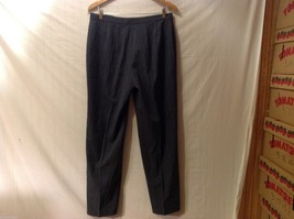 APT 9 Womens Gray Pinstriped Pants, Size 12. image 2