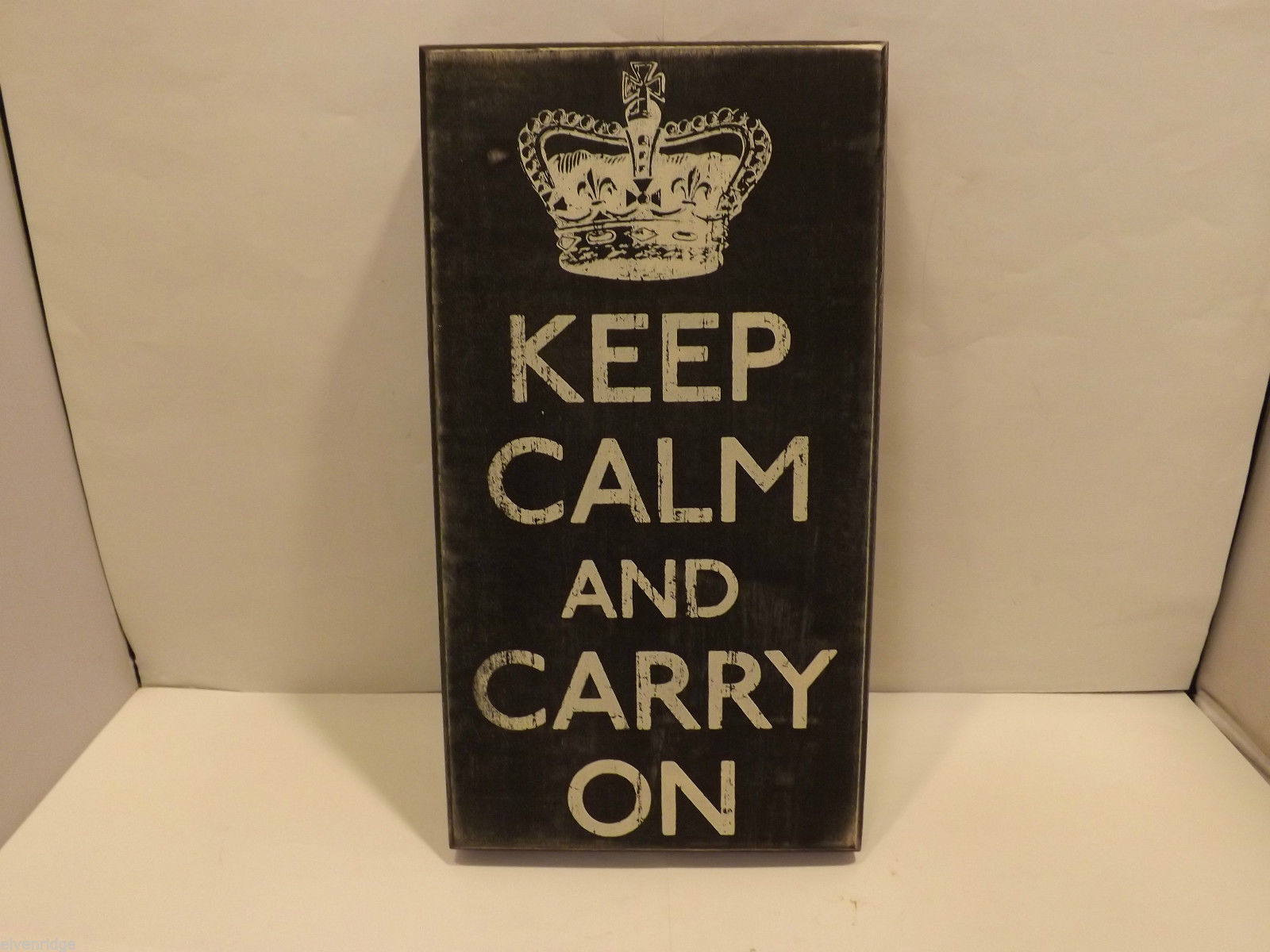 Keep Calm and Carry On Home Decor Sign