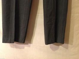 APT 9 Womens Gray Pinstriped Pants, Size 12. image 3