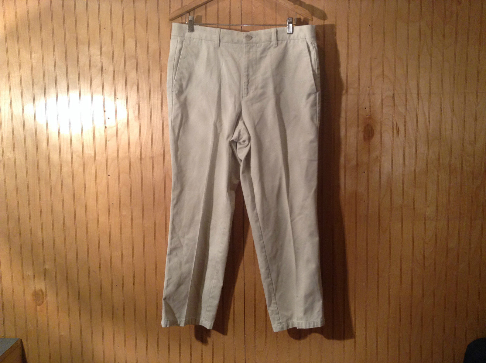 Khaki Casual Pants by Dockers Classic Pants Size W36 by L29 Individual Fit