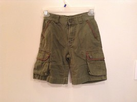 Khaki Green 100 Percent Cotton Size 7 Shorts Polo by Ralph Lauren 6 Pockets