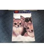 Kitchen Cotton Towel Chihuahua Dog Profile Made in USA - $39.99
