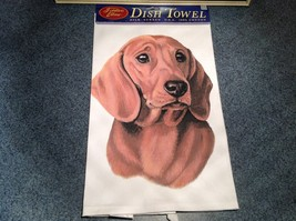 Kitchen Cotton Towel  Dachshund Dog Profile Made in USA - $39.99