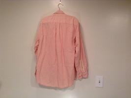 Indigo Palms Denim Company Long Sleeve Pink with Stripe Pattern Size M Shirt image 4