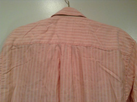 Indigo Palms Denim Company Long Sleeve Pink with Stripe Pattern Size M Shirt image 5