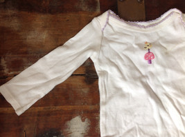 Infant One pc White with Bird Snaps Long Sleeves Babies R Us Size 0 to 3 Months image 2