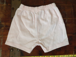Infant Pale Pink Elastic Waist Shorts from Basic Editions Size 24 Months image 5