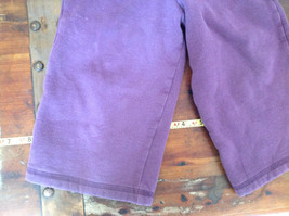 Infant Purple Frilly Tie Waist Pants by Carter Size 18 Months image 3