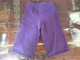 Infant Purple Frilly Tie Waist Pants by Carter Size 18 Months image 4