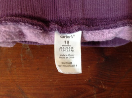 Infant Purple Frilly Tie Waist Pants by Carter Size 18 Months image 5