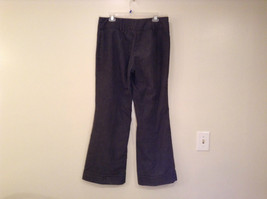 Ingredients Size 12 Gray Casual Pants Cuffed Pant Legs 3 Buttons Zipper Closure image 2