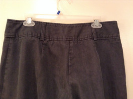 Ingredients Size 12 Gray Casual Pants Cuffed Pant Legs 3 Buttons Zipper Closure image 6