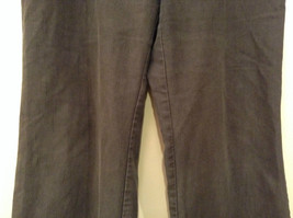 Ingredients Size 12 Gray Casual Pants Cuffed Pant Legs 3 Buttons Zipper Closure image 4