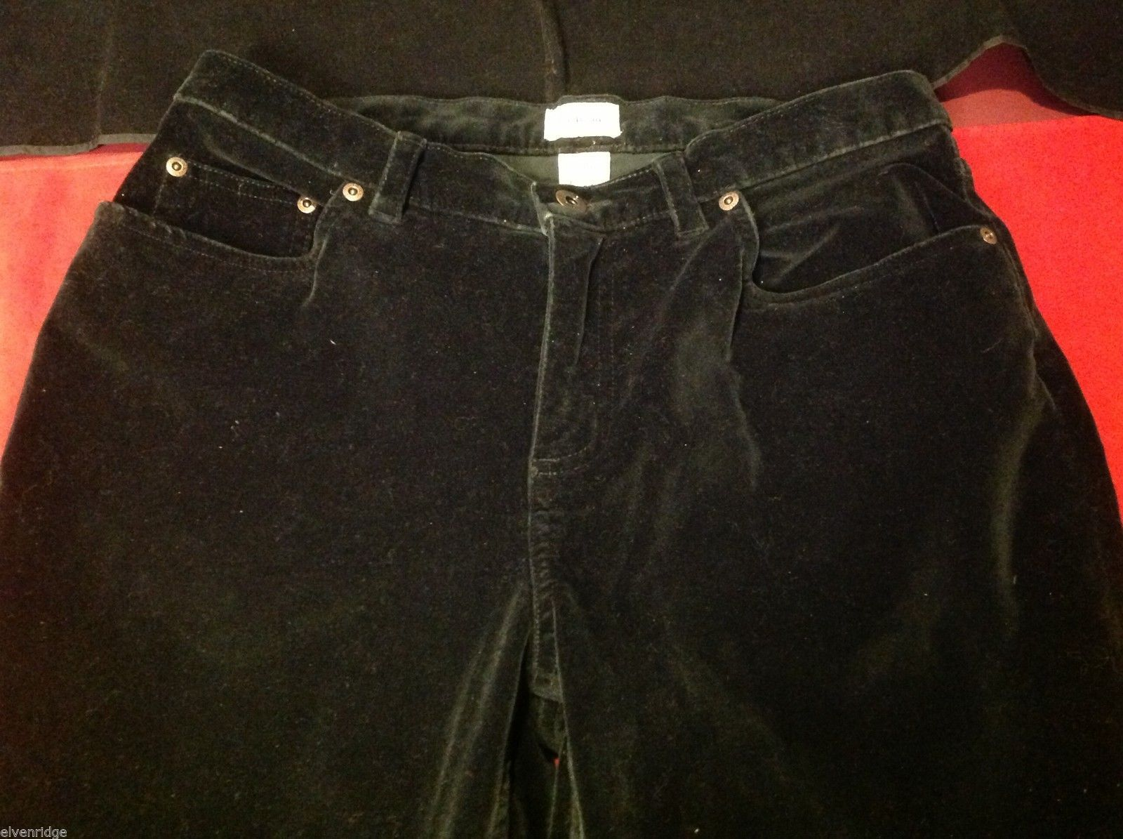 L.L bean  women's black pants  petite size 10