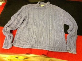 L L Bean light purple  sweater  for women size small