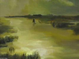 Marsh Landscape Oil Painting by Waltch image 5