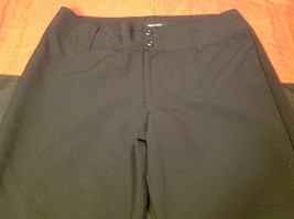 Ladies Long Black Dress Pants Xhilaration Size 11