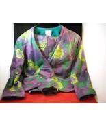 Ladies Anastasia floral 2 piece Jacket Pants size 42 - $74.24