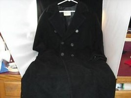 Ladies Max & Company Black wool double breasted Coat - $74.24