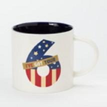I've got your 6  mug red white and blue patriotic homefront girl image 2