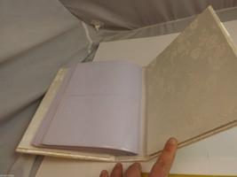 Ivory Bridal Photo Album and Bridal Garter Belt image 3